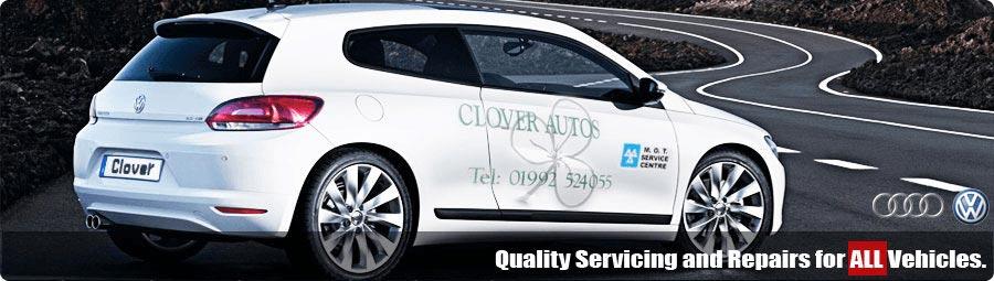 Clover Autos Banner