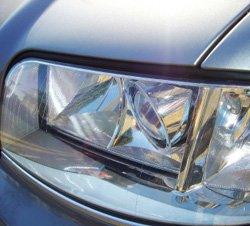 Close up of an Audi car
