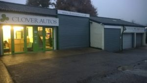 Clover Auto Premises where we carry out servicing