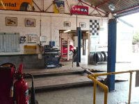 MOT test workshop for Clover Autos
