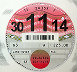 Tax Disc controversy