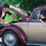 Volkswagen car needing repairs