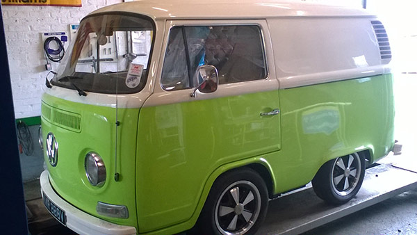 Rupert Grint's VW Van