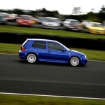 VW Golf racing